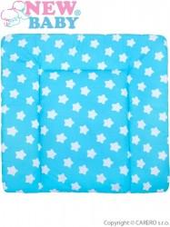 Bavlnená prebaľovacia podložka 70x65 New Baby hviezdičky