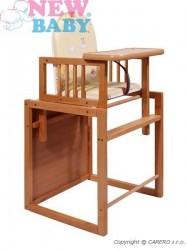 Buková stolička New Baby Victory - prírodná