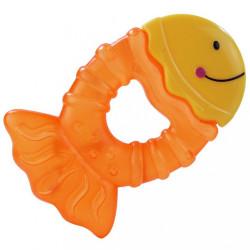 Chladiace hryzátko Baby Mix rybka Žltá