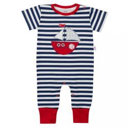 Chlapčenský letný overal New Baby Marine modrá
