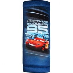 Chránič na bezpečnostné pásy Cars 3 modrá