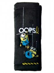 Chránič na bezpečnostné pásy Disney Minions Čierna