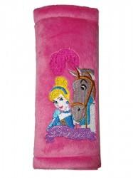Chránič na bezpečnostné pásy Disney Princess ružová
