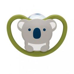 Cumlík Space NUK 6-18m koala zelená