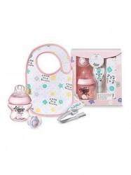Darčeková dojčenská sada pre dievčatká Tommee Tippee ružová
