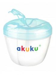Dávkovač sušeného mlieka Akuku modrý