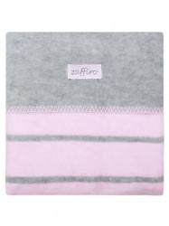 Detská bavlnená deka Womar 75x100 ružová