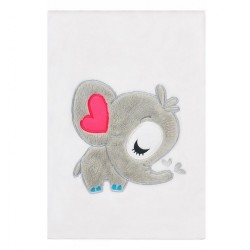 Detská deka Koala Animals sivá biela