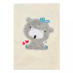 Detská deka Koala Animals smotanová