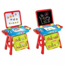 Detská edukačná magnetická tabuľa 3v1 Baby Mix Červená