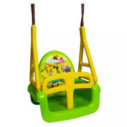 Detská hojdačka 3v1 safari Swing green zelená