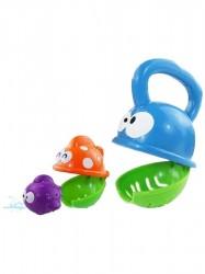 Detská hračka do kúpeľa Baby Mix papajúca rybka podľa obrázku
