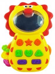 Detská hračka so zvukom Baby Mix  Levíček podľa obrázku