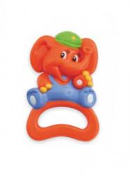 Detská hrkálka Baby Mix sloník podľa obrázku
