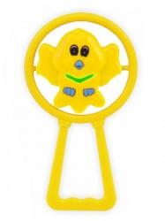 Detská hrkálka Baby Mix vtáčik Žltá