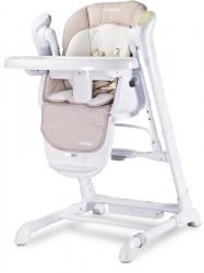 Detská jedálenská stolička 2v1 Caretero Indigo beige béžová
