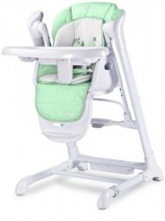 Detská jedálenská stolička 2v1 Caretero Indigo mint mätová