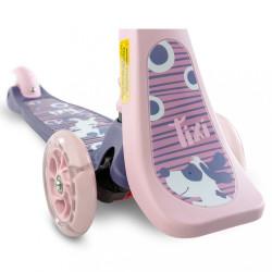 Detská kolobežka 2v1 Toyz Tixi pink ružová #5