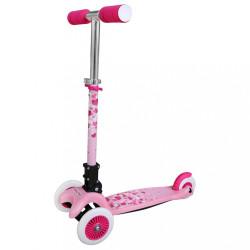 Detská kolobežka Baby Mix Scooter pink ružová