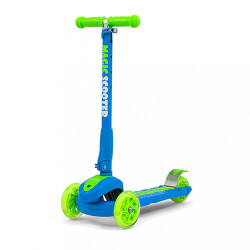 Detská kolobežka Milly Mally Magic Scooter blue-green multicolor