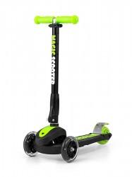 Detská kolobežka Milly Mally Magic Scooter green zelená