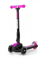 Detská kolobežka Milly Mally Magic Scooter pink ružová