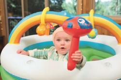 Detská nafukovacia ohrádka Bestway dúha multicolor #2