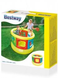 Detská nafukovacia trampolína Bestway Žltá #3