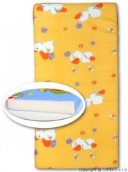 Detská penová matrac oranžová - rôzne obrázky