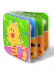 Detská pískacia knižka Baby Ono domáce zvieratká podľa obrázku