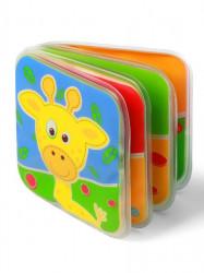 Detská pískacia knižka Baby Ono safari zvieratka podľa obrázku