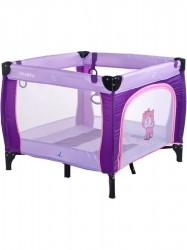 Detská skladacia ohrádka CARETERO Quadra purple fialová