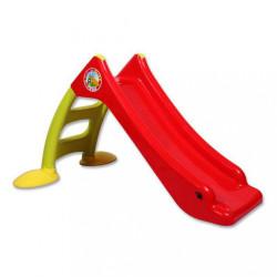 Detská šmýkačka - červeno-zelená podľa obrázku