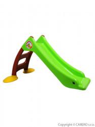 Detská šmýkačka - zelená