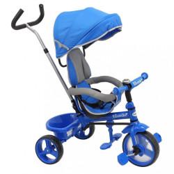 Detská trojkolka Baby Mix Ecotrike s bezpečnostnými pásmi light blue modrá