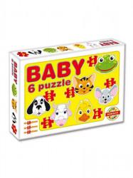 Detské Baby puzzle Žltá