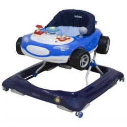 Detské chodítko Baby Mix autíčko modré