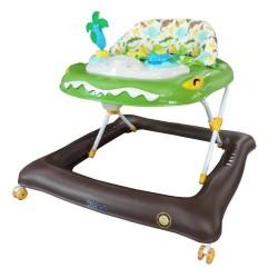 Detské chodítko Baby Mix krokodýl zelené