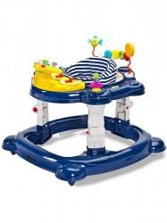 Detské chodítko Toyz HipHop 3v1 modré tmavo modrá
