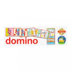 Detské domino Vehicles biela