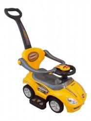 Detské hrajúce Jezdítko 3v1 Baby Mix yellow Žltá