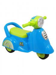 Detské jazdítko so zvukom Baby Mix Scooter blue modrá