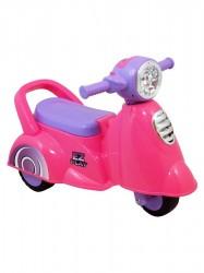 Detské jazdítko so zvukom Baby Mix Scooter pink ružová