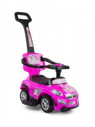 Detské jezdítko 2v1 Milly Mally Happy pink ružová