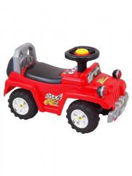 Detské jezdítko so zvukom Baby Mix červené