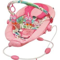 Detské lehátko Baby Mix dark pink tmavo ružová
