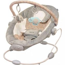 Detské lehátko Baby Mix grey sivá