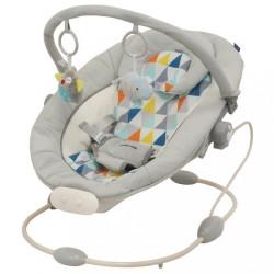 Detské lehátko Baby Mix svetlo sivé