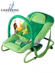 Detské lehátko CARETERO Astral green zelená