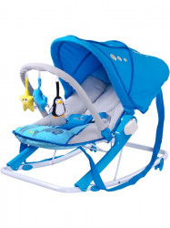 Detské ležadlo CARETERO Aqua blue modrá